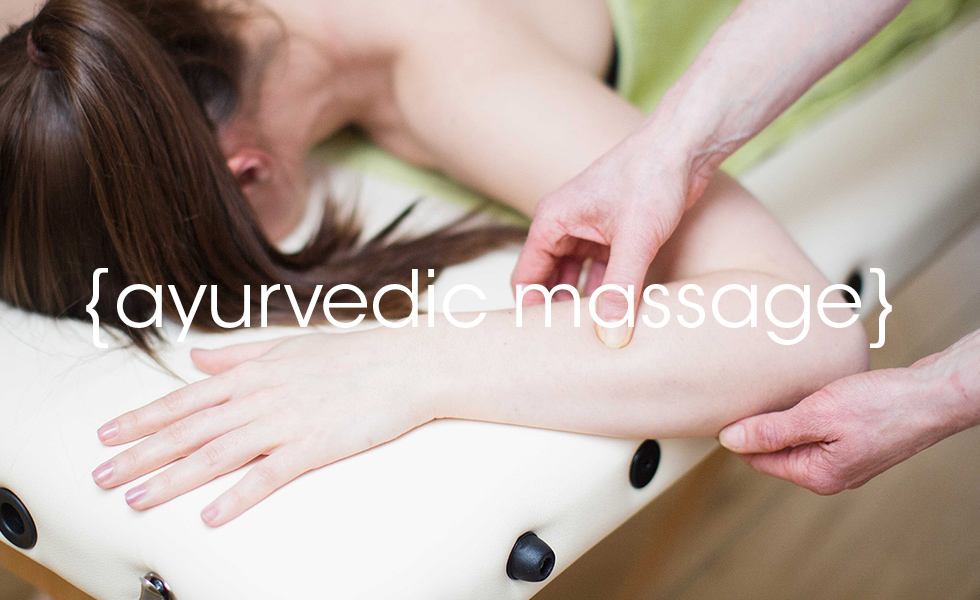 Ayurvedic massage at Lotus health and fitness