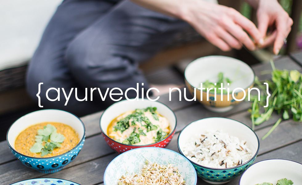 Ayurvedic nutrition at Lotus health and fitness
