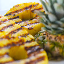 Grilled Pineapple with Black Pepper