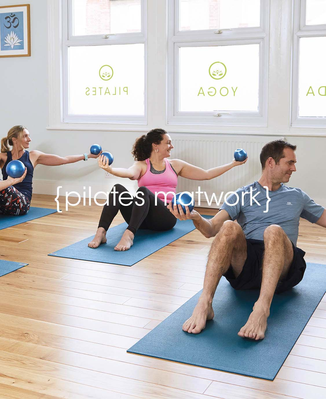 Pilates Matwork at Lotus health and fitness