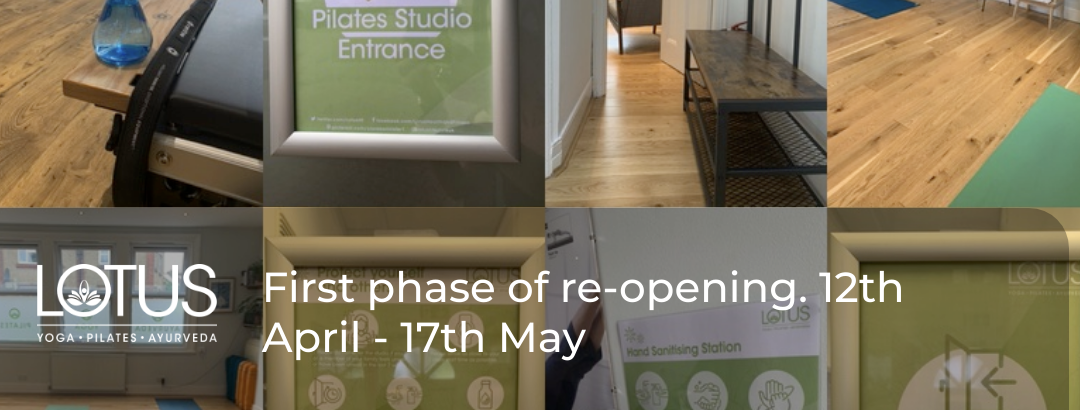 Studio Re-opening 12th April – 17th May
