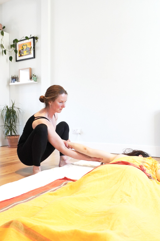 Ayurvedic Yoga Massage at lotus health and fitness