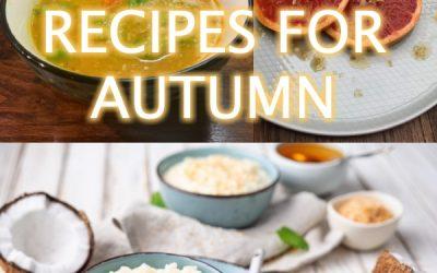 Autumn Recipes for the Doshas
